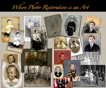 Photo Restoration Art
