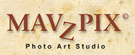 MAVZPIX Photo Art Studio Logo