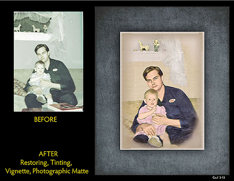 Recoloring Photo Services